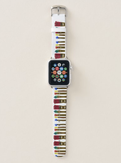 Artist apple watch band painter paint brushes artistic