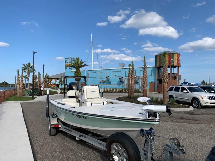 River Deck restaurant New Smyrna Beach