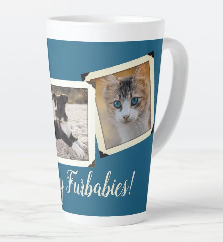 Animal photos tall coffee mug