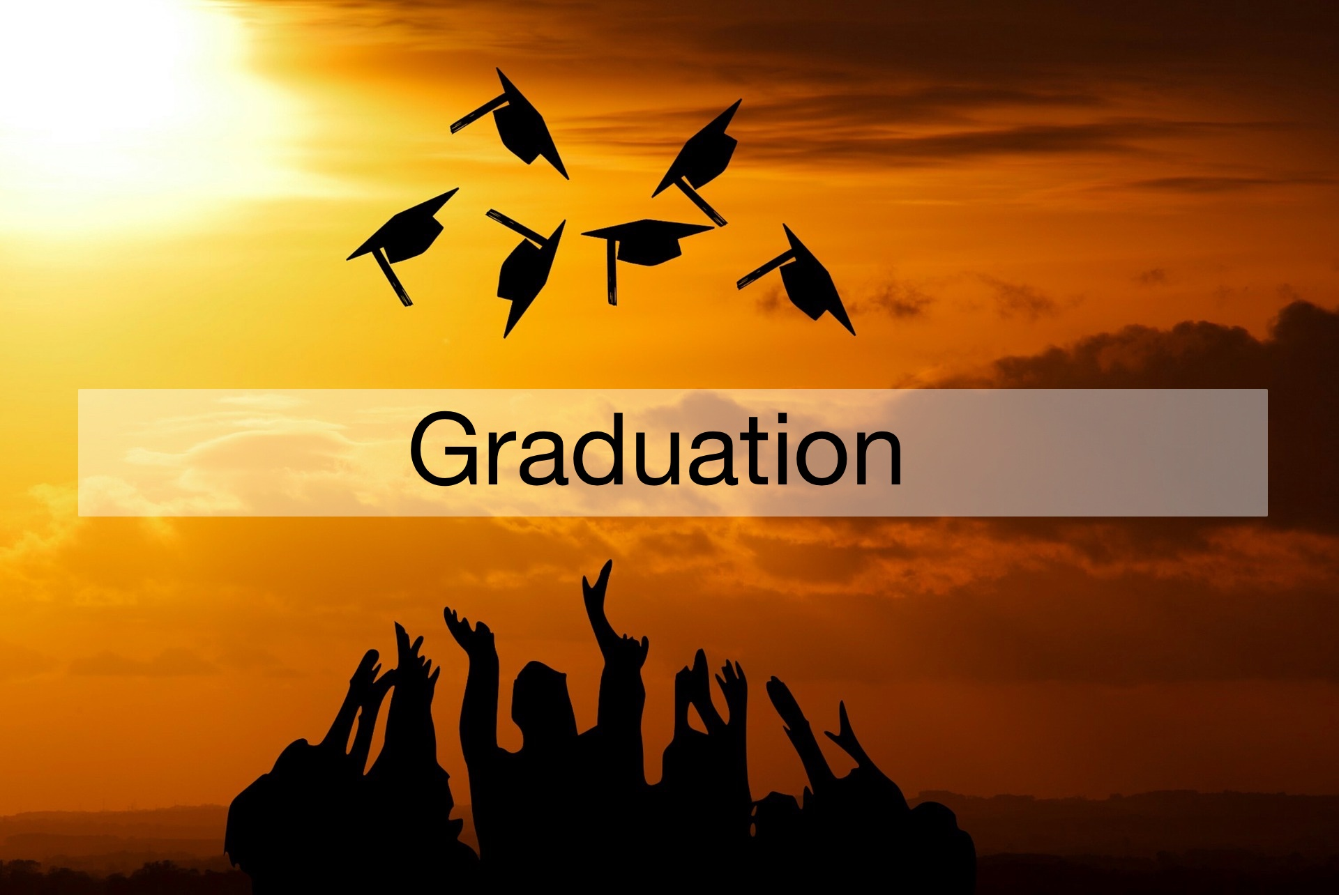 graduation announcements and party invitations