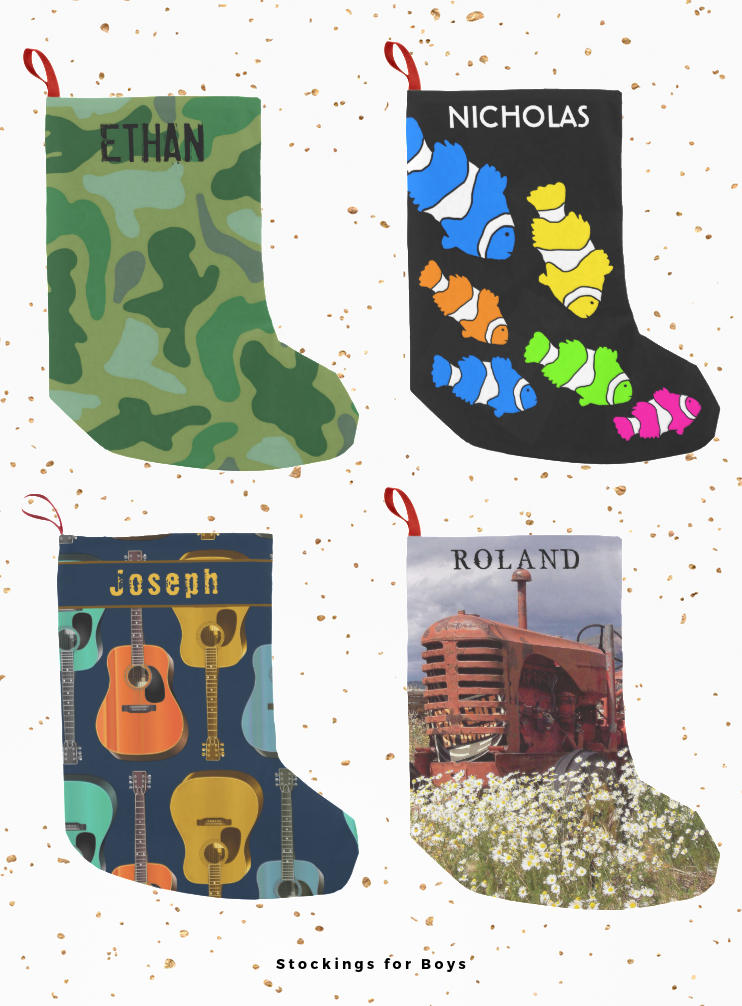 Christmas stockings for boys