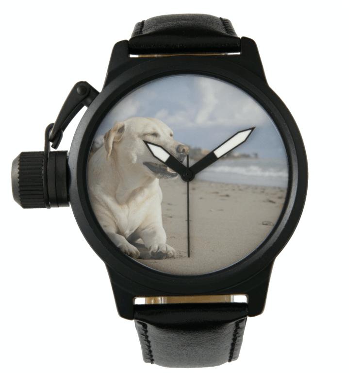 Photo watch, numberless