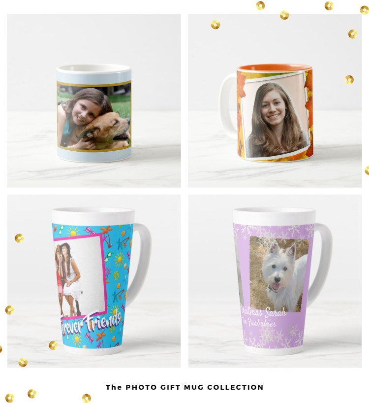 photo gift mug collection