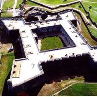 The Famous Fort in St. Augustine That Was Built of Seashells