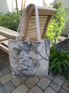 AFT825 100 Cotton Canvas Silk Screened Handy Tote