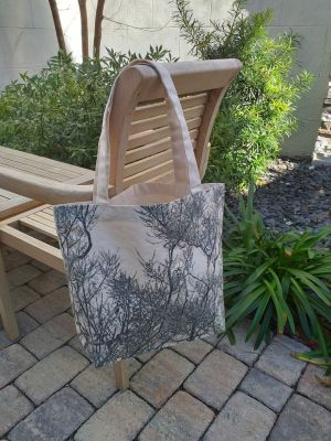 AFT874 100 Cotton Canvas Silk Screened Handy Tote