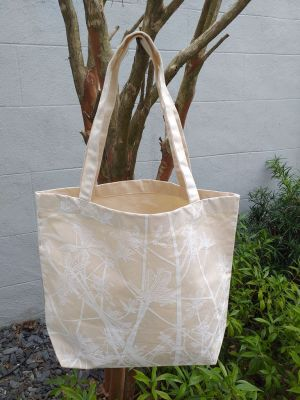AFT905WP Classic Tote Natural Photos Silk Screen