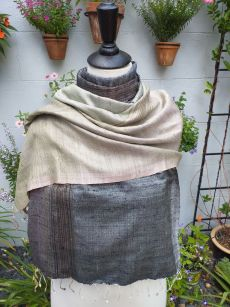 NCS561e Thai Silk Hand Made Stylish Shawl