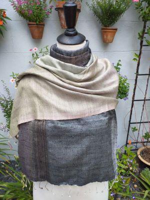 NCS561e Thai Silk Hand Made Stylish Shawl