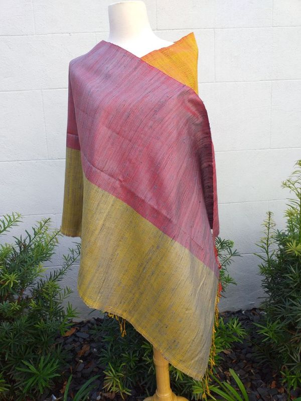 NCS710A SEAsTra 100 Raw Silk Scarf