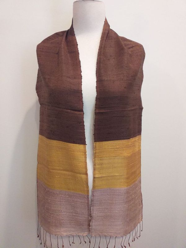 NDC001A SEAsTra Handwoven Silk Scarf