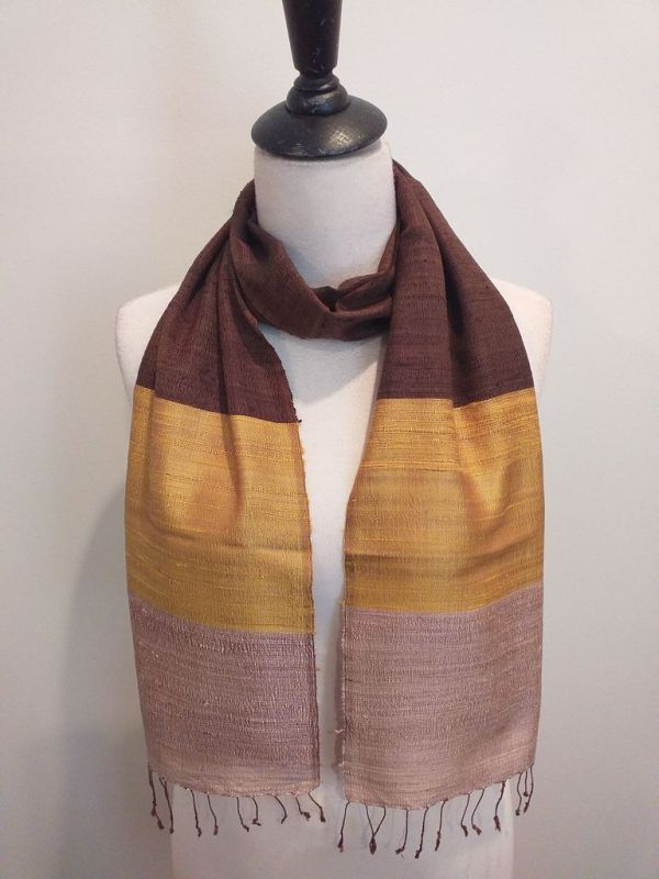 NDC001C SEAsTra Handwoven Silk Scarf