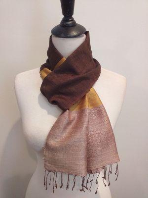 NDC001E SEAsTra Handwoven Silk Scarf