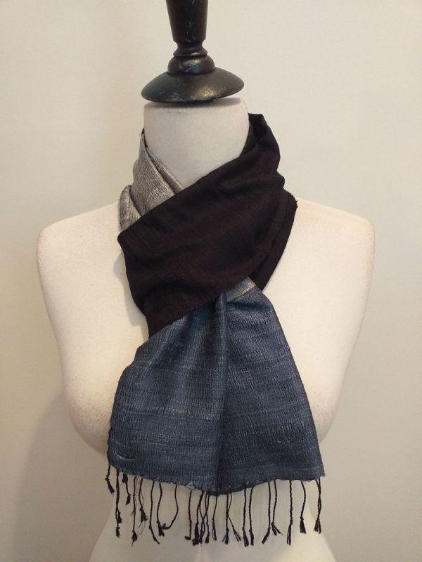 NDC008E SEAsTra Handwoven Silk Scarf
