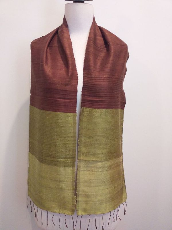 NDC019A SEAsTra Handwoven Silk Scarf