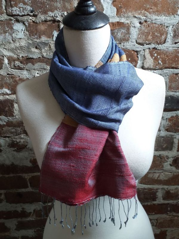 NDC022B SEAsTra Handwoven Silk Scarves