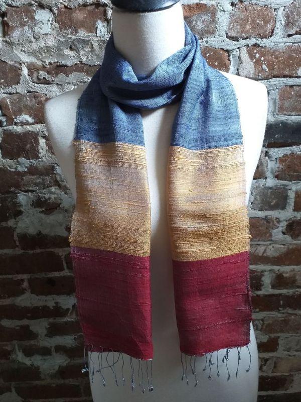 NDC022C SEAsTra Handwoven Silk Scarves