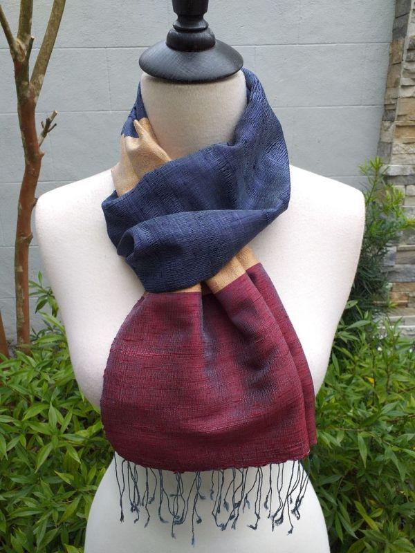 NDD022B SEAsTra Handwoven Silk Scarves