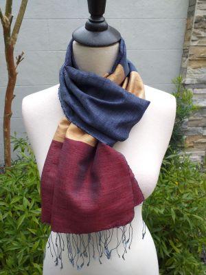 NDD022C SEAsTra Handwoven Silk Scarves