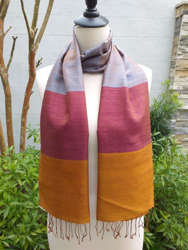 NDD330D SEAsTra Fairtrade Silk Scarves
