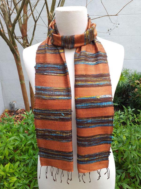 NFC001B SEAsTra Fairtrade Silk Scarf