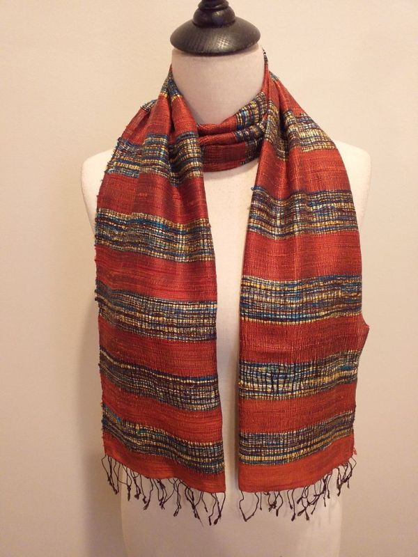 NFD001C SEAsTra Handwoven Silk scarf