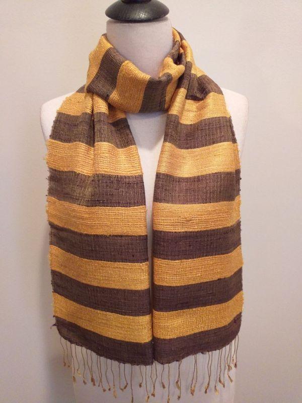 NFD035C SEAsTra Handwoven Silk scarf