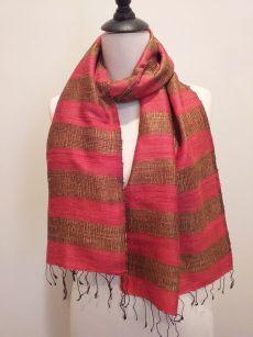 NFD185 SEAsTra Handwoven Silk scarf
