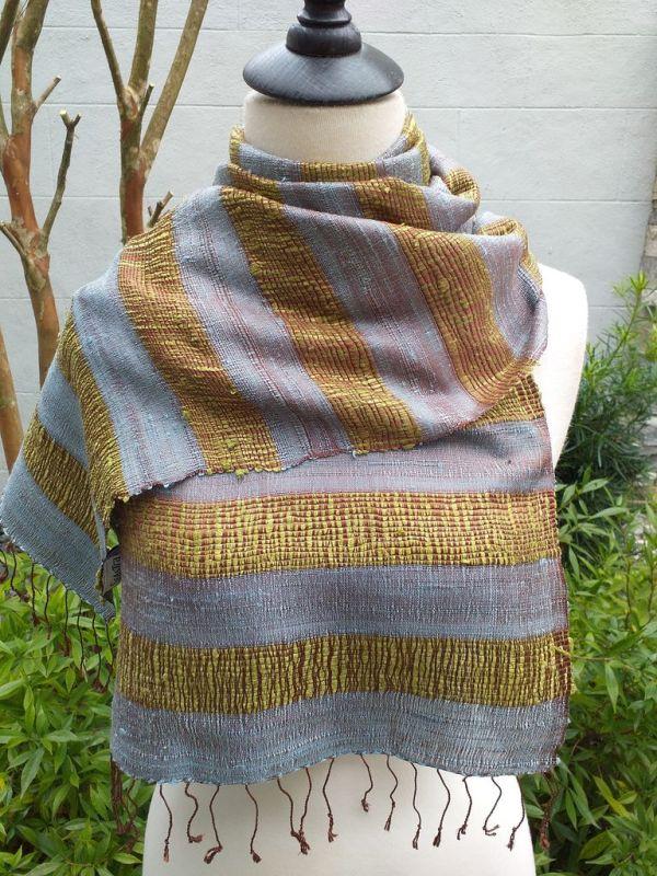 NFD317A SEAsTra Fairtrade Silk Scarves