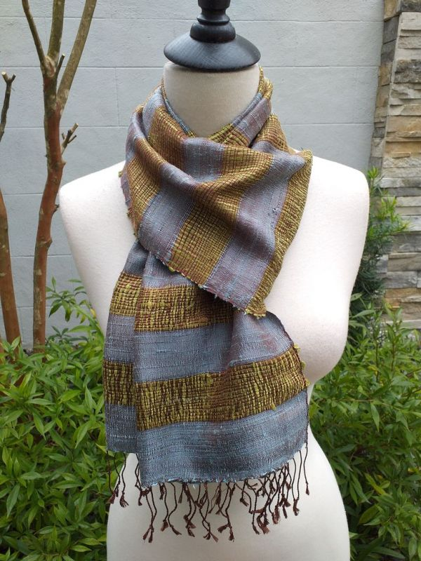 NFD317C SEAsTra Fairtrade Silk Scarves