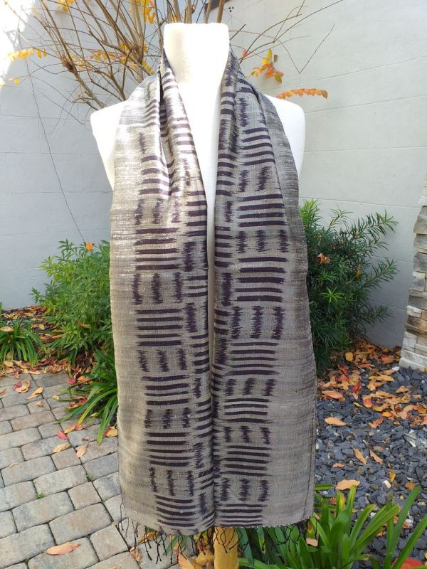 NMD672A SEAsTra Fairtrade Silk Scarf
