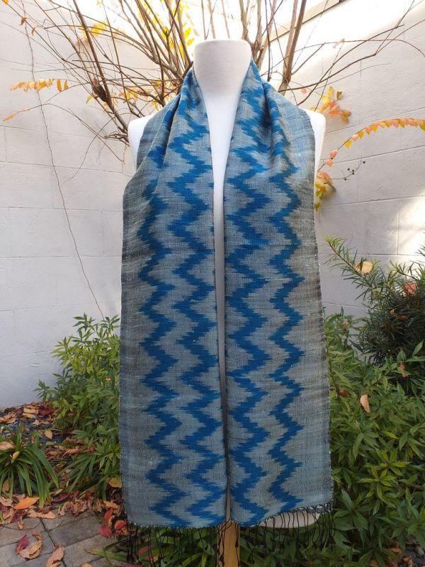 NMD675A SEAsTra Fairtrade Silk Scarf