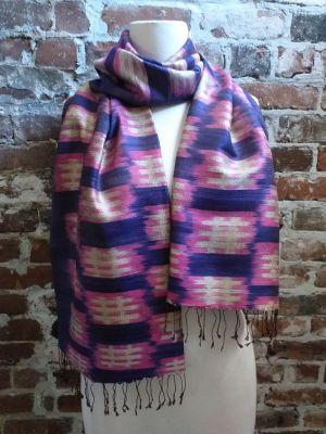 NMS786B SEAsTra Fairtrade Silk Scarf