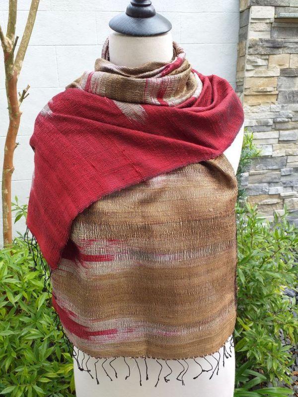 NMS866A SEAsTra Fair Trade Silk Scarf