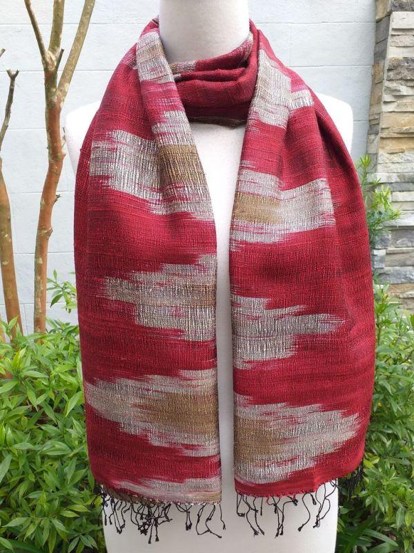 NMS866D SEAsTra Fair Trade Silk Scarf