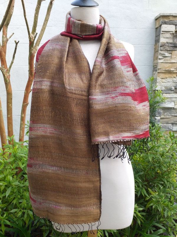 NMS866E SEAsTra Fair Trade Silk Scarf