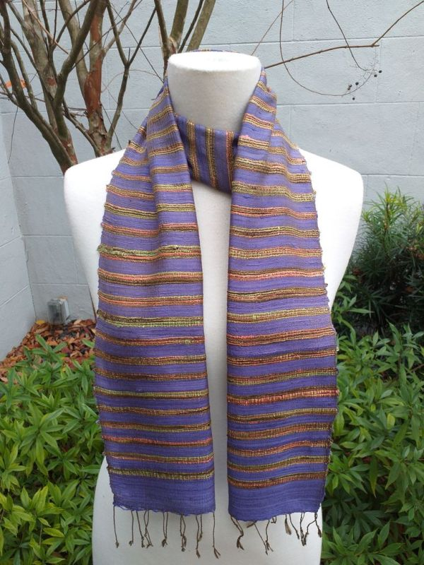 NNC162B SEAsTra Fairtrade Silk Scarf