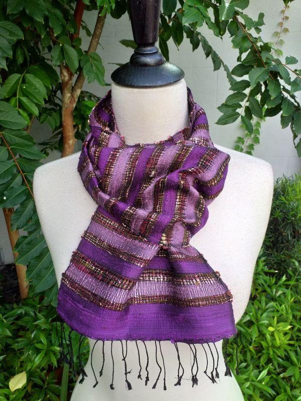 NNC512c Thai Silk Hand Wash Elegant Scarf