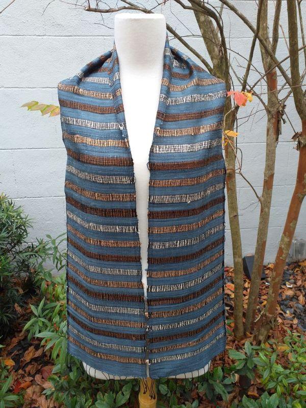 NNC572A SEAsTra Fairtrade Silk Scarf