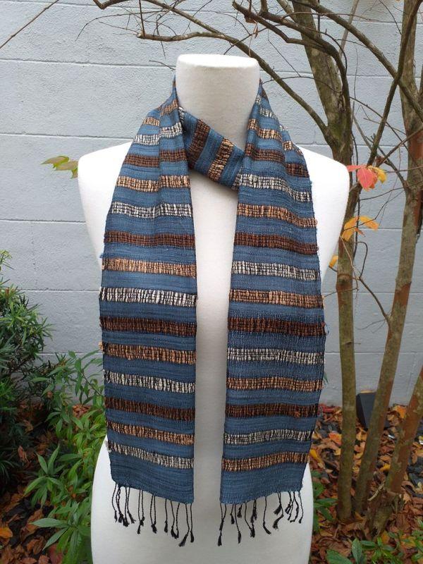 NNC572B SEAsTra Fairtrade Silk Scarf