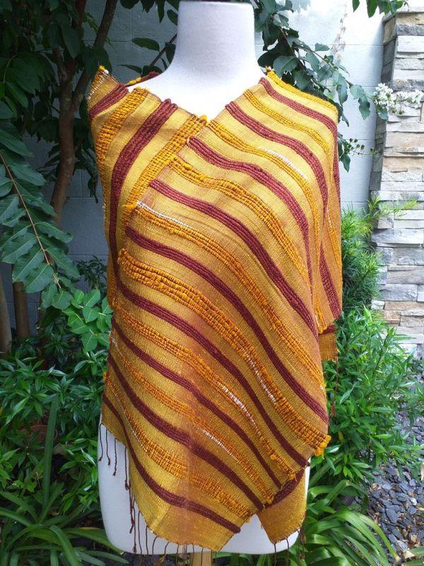 NND013d Thai Silk Hand Spun Stylish Scarf