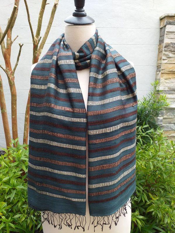 NNS572D SEAsTra Thailand Silk Scarves