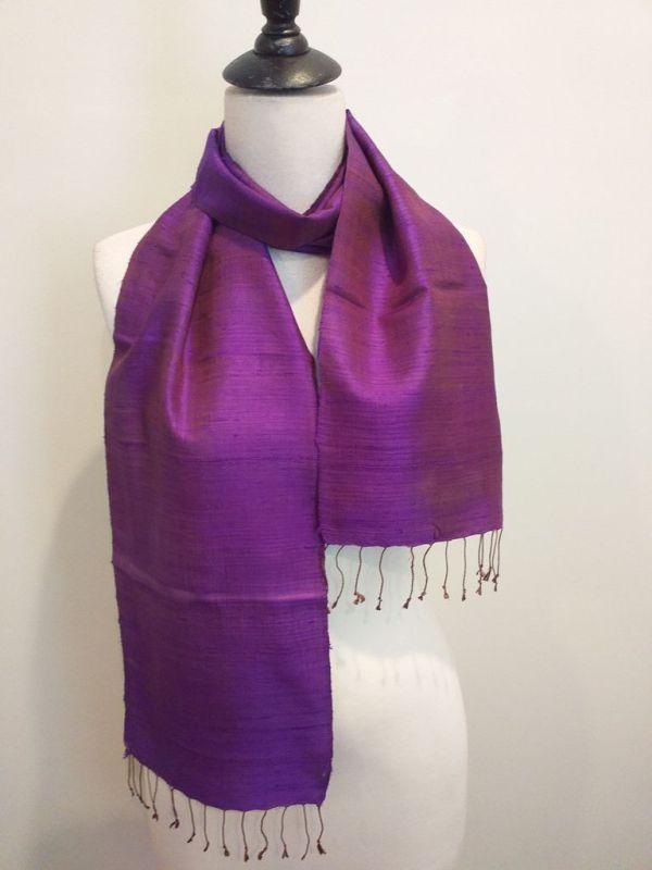 NPC186B SEAsTra Fair Trade Silk Scarf
