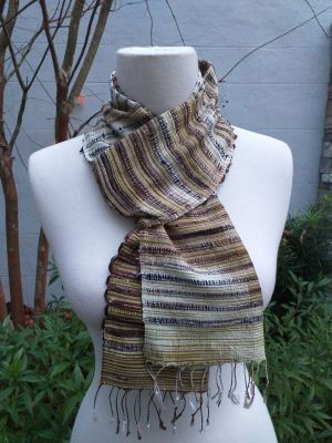 NSC075E SEAsTra Fair Trade Silk Scarf