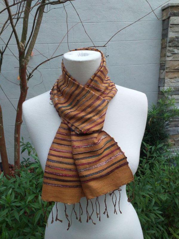 NSC327D SEAsTra Fair Trade Silk Scarf