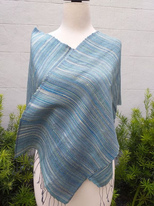 NSD555d Thai Silk Hand Spun Stylish Scarf