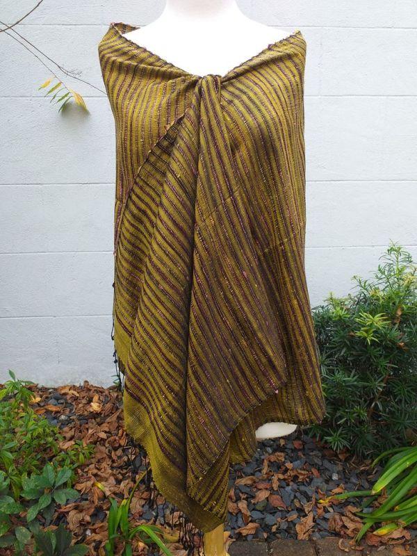 NSS014A SEAsTra Fair Trade Silk Scarf