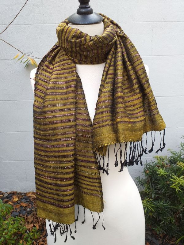 NSS014B SEAsTra Fair Trade Silk Scarf