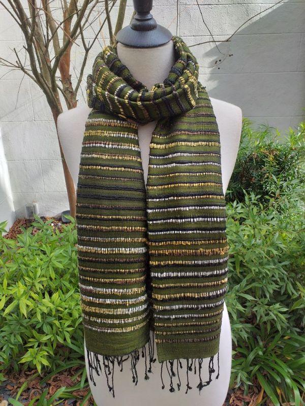 NSS139C SEAsTra Fair Trade Silk Scarf