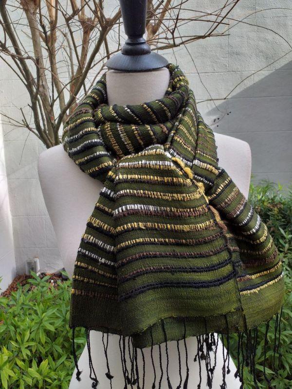 NSS139D SEAsTra Fair Trade Silk Scarf
